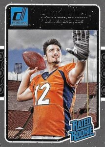 2016 Donruss Football Rated Rookie Paxton Lynch