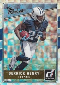 2016 Donruss Football Cards - Factory Set 47
