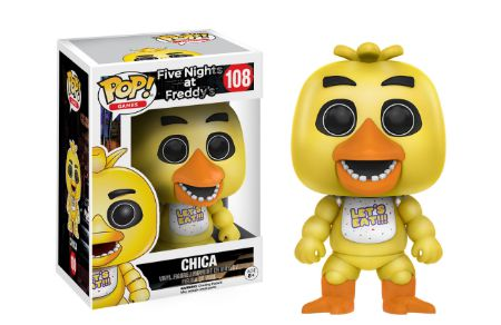 2016 Funko Pop Five Nights at Freddy's 108 Chica