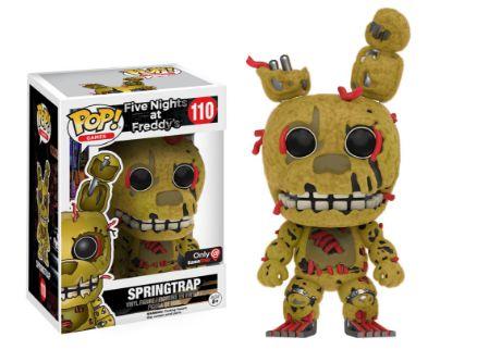 2016 Funko Pop Five Nights at Freddy's 110 Springtrap GameStop