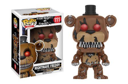 2016 Funko Pop Five Nights at Freddy's 111 Nightmare Freddy