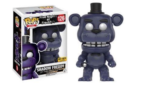2016 Funko Pop Five Nights at Freddy's 126 Shadow Freddy Hot Topic