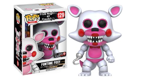 2016 Funko Pop Five Nights at Freddy's 129 Funtime Foxy GameStop