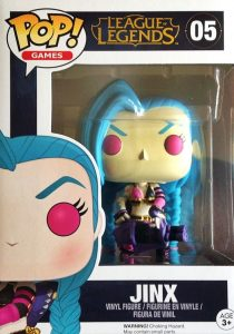 2016 Funko Pop League of Legends 05 Jinx