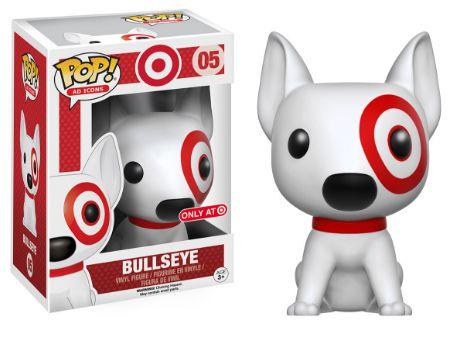 2016 Funko Pop Pets Bullseye 05 Target Exclusive