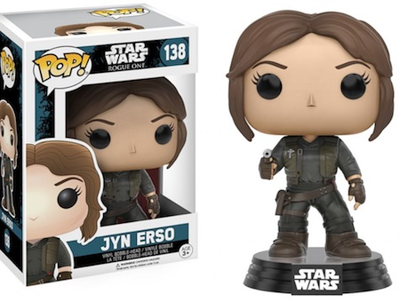 2016 Funko Pop Star Wars Rogue One 138 Jyn Erso