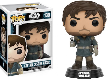 2016 Funko Pop Star Wars Rogue One 139 Captain Cassian Andor