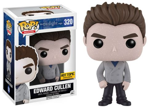 2016 Funko Pop Twilight 320 Edward Cullen Glittery Hot Topic Exclusive