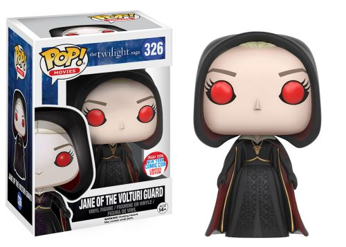 2016 Funko Pop Twilight 326 Jane of the Volturi Guard with Hood NYCCC Exclusive