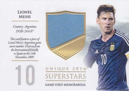 2016 Futera Unique World Football Soccer Cards - Checklist Added 36