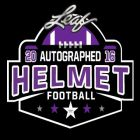 2016 Leaf Autographed Full-Size Helmet Football