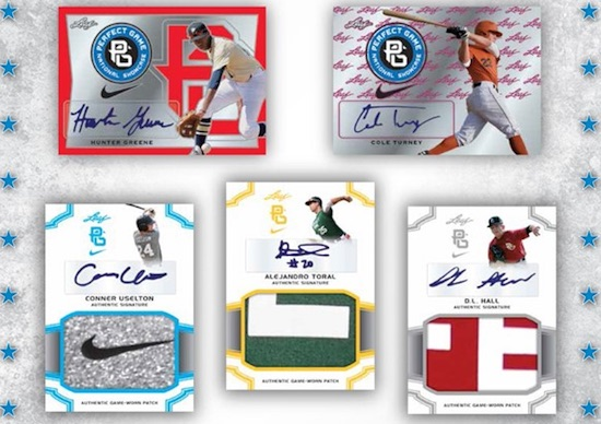 2016 Leaf Perfect Game National Showcase Baseball Cards - Checklist Added 3