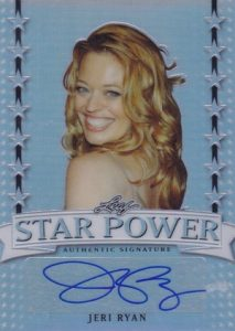 2016 Leaf Pop Century Star Power Metal Autographs Jeri Ryan