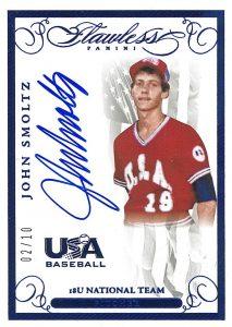 Top John Smoltz Baseball Cards Rookies Autographs Inserts