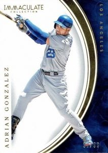 2016 Panini Immaculate Baseball Base