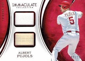 2016 Panini Immaculate Baseball Cards 29