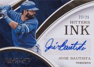 2016 Panini Immaculate Baseball Hitters Ink