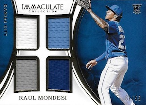 2016 Panini Immaculate Baseball Cards 34