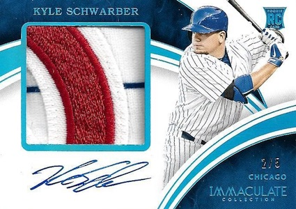 2016 Panini Immaculate Baseball Cards 40