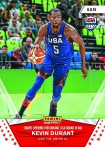2016 Panini Instant USA Basketball 1 Kevin Durant