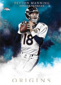 2016 Panini Origins Football Base Turquoise Peyton Manning