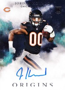 2016 Panini Origins Football Rookie Autographs Jordan Howard