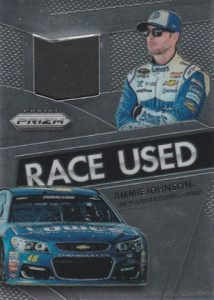 2016 Panini Prizm NASCAR Racing Race Used Tire Jimmie Johnson