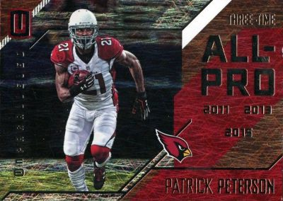 2016 Panini Unparalleled FB All-Pro Patrick Peterson