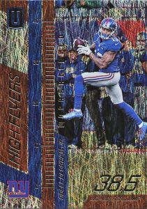 2016 Panini Unparalleled FB High Flyers Odell Beckham