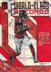 2016 Panini Unparalleled FB World Class Devin Hester