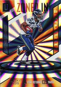 2016 Panini Unparalleled FB Zoned In Tyler Lockett