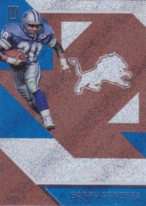 2016 Panini Unparalleled Football Base Barry Sanders