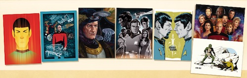 2016 Rittenhouse Star Trek 50 for 50 Trading Cards