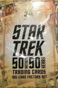 2016 Rittenhouse Star Trek 50 for 50 set