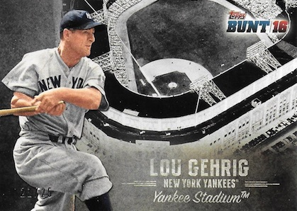 2016 Topps Bunt Baseball Cards - Product Review and Hit Gallery Added 33