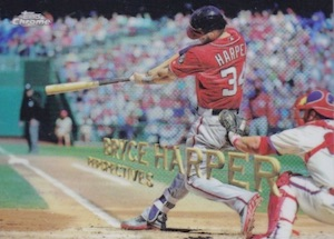 2016 Topps Chrome Baseball Perspectives Bryce Harper