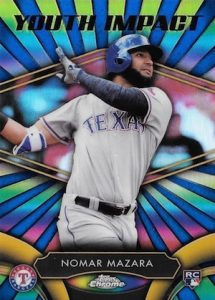 2016 Topps Chrome Baseball Youth Impact Mazara