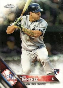 quality design 6fd14 9a865 Gary Sanchez Rookie Card Checklist, Top Prospects, Best ...