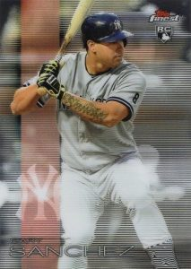 Full Guide to Gary Sanchez Rookie Cards and Key Prospects 11