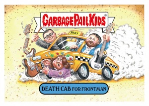 2016 Topps Garbage Pail Kids Best of the Fest Death Cab