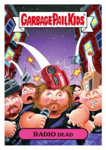 2016 Topps Garbage Pail Kids Best of the Fest Sticker Cards - Final Print Runs Added 19