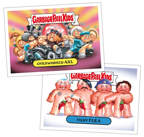 2016 Topps Garbage Pail Kids Best of the Fest Sticker Cards - Final Print Runs Added 1