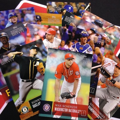 2016 Topps National Baseball Card Day Promo Cards Main