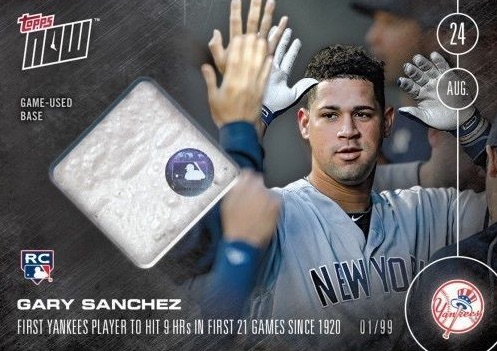 Full Guide to Gary Sanchez Rookie Cards and Key Prospects 15