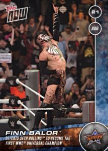 2016 Topps Now WWE Trading Cards 22
