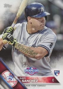 2016 Topps Opening Day Gary Sanchez RC #OD-146
