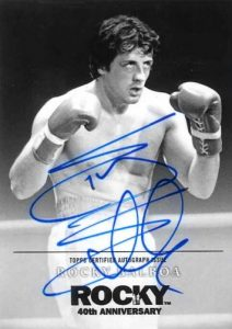 2016 Topps Rocky 40th Anniversary Complete Set - Checklist Added 25