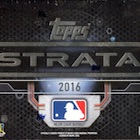 2016 Topps Strata Baseball Cards - Product Review and Hit Gallery Added