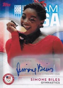 2016 Topps US Olympic and Paralympic Team Hopefuls Trading Cards 21