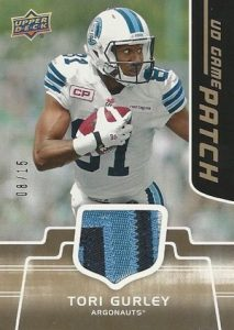 2016 Upper Deck CFL Football Cards 30